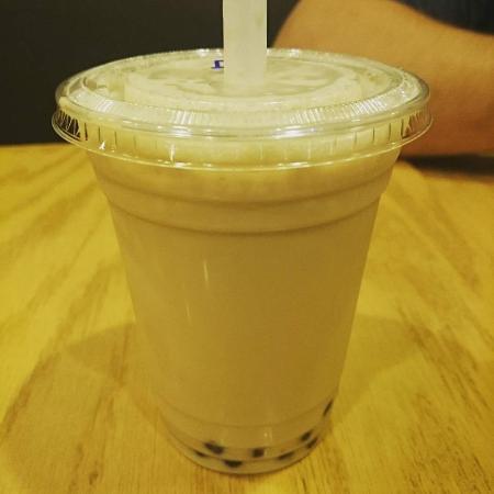 Teariffic Cafe : bubble black tea with milk