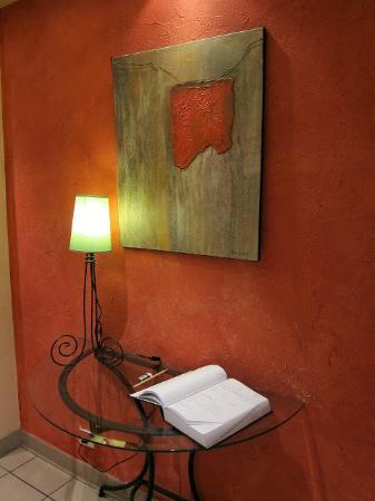 Saulges, فرنسا: 飯店一隅