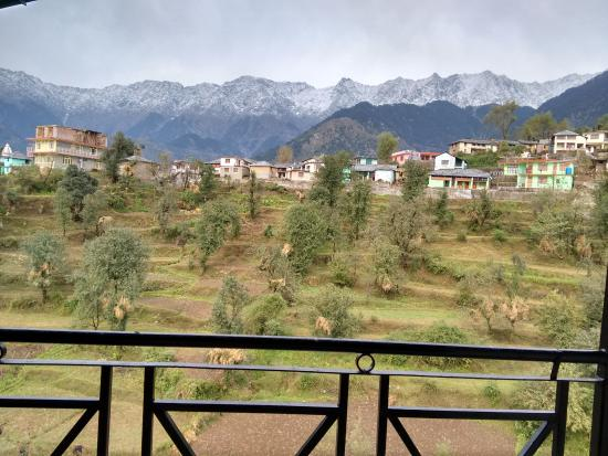 Nandini Residency : View from the 4th floor terrace.
