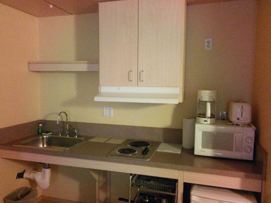 Corporate Inn Sunnyvale: кухня в номере