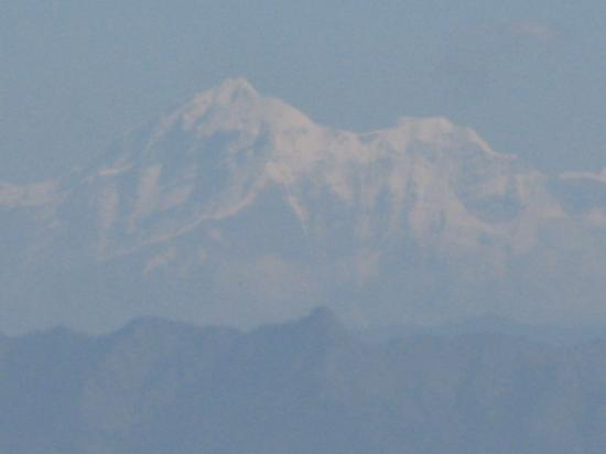 Tip-in-Top Point: The snow clad Himalayan mountain range