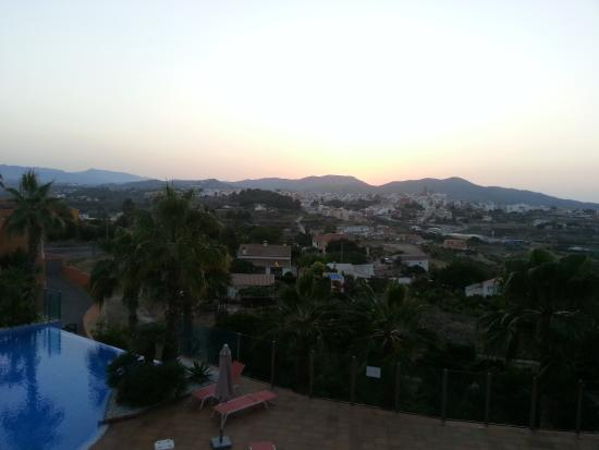 Apartamentos Benitachell: Вид на Бенитачель