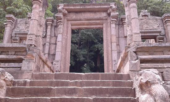 Yapahuwa Entrance