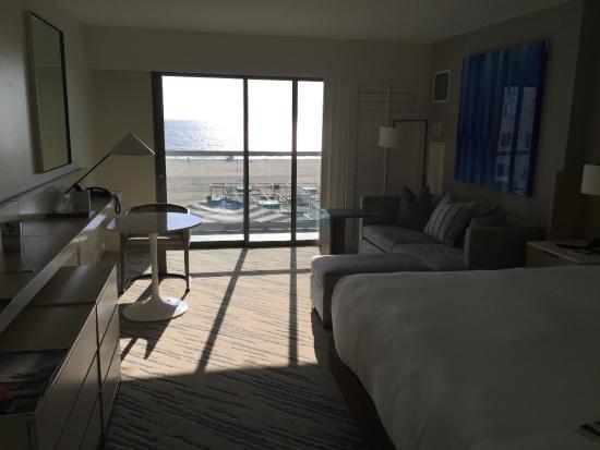 Loews Santa Monica Beach Hotel Premier Ocean View Room