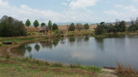 Shiriba Lodge : From the dam wall