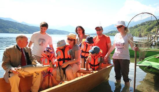 Familienhotel Post: geführte Fischfahrten