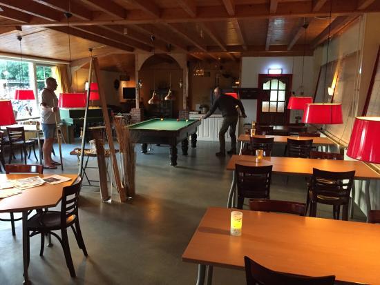 H2O Hostel Terschelling : Gemeinschaftsraum