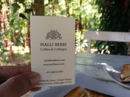 Card Picture Of Coffee Barn Cafe Chikmagalur Tripadvisor