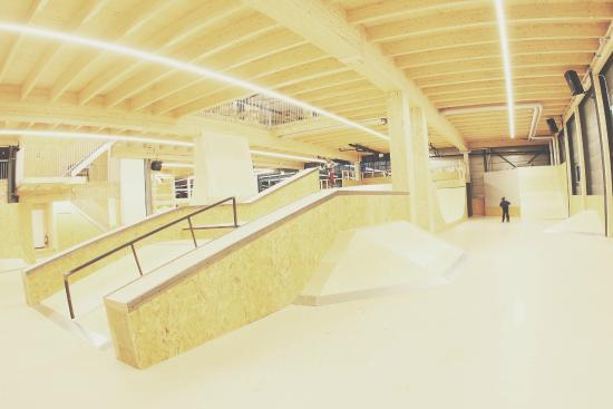Aarau, Schweiz: Skate-Anlage