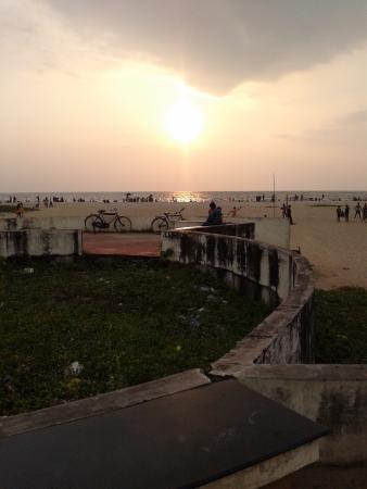 Panoramic Sea Resort: Beach just outside the resort gates