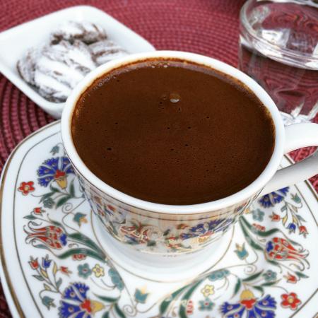 Uzum Cafe & Restaurant: Turkish coffee