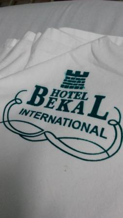 Hotel Bekal International: tissue at hotel