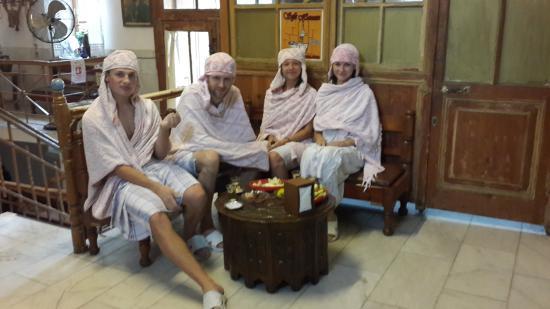 Sefa Hamam: Чай после хамама