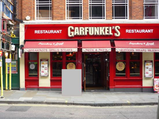Panneau photo de garfunkels restaurant londres for Cafe le jardin bell lane london