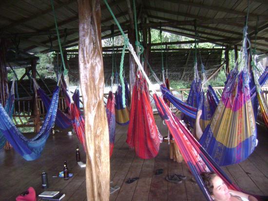 Amarongachi Jungle Eco-Lodge : Zona relax