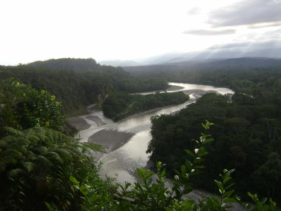 Amarongachi Jungle Eco-Lodge : vista zona pranzo