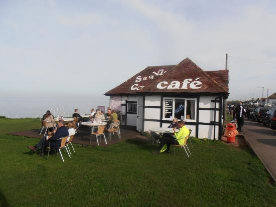 Seaview Cafe: cafe on the cliff