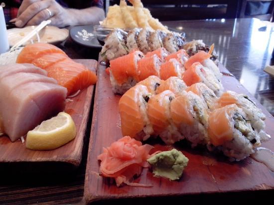 Sushi Garden : je kunt het niet laten liggen zooo lekker!!