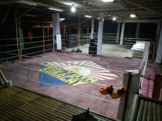 Legacy Gym Boracay: The boxing ring