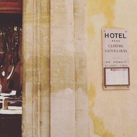 Hotel Cloitre Saint Louis: Entrance
