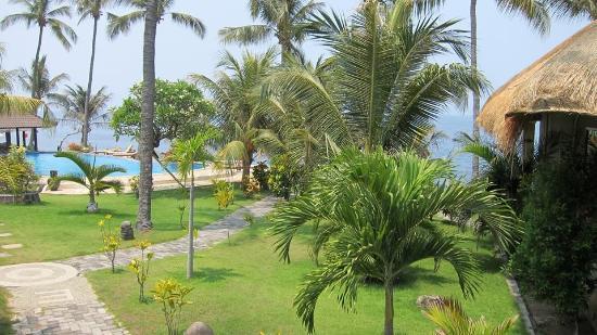 Resort Relax Bali: Výhled z bungalovu