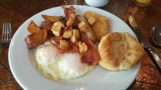 Quapaw, OK: Day 1's breakfast