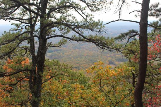 Pilot Mountain State Park: view from the trail