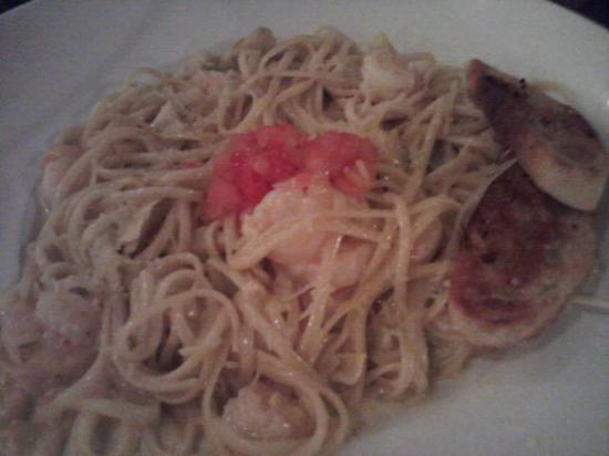 Bay City, MI: Shrimp and pasta