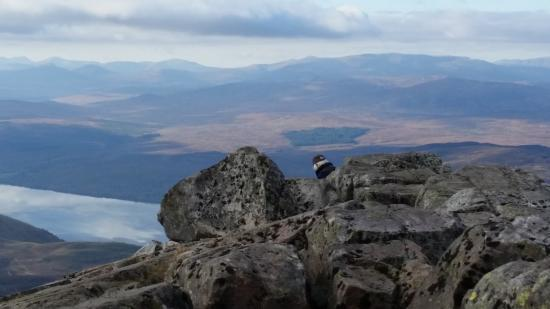 Perth and Kinross, UK: View from the Summit