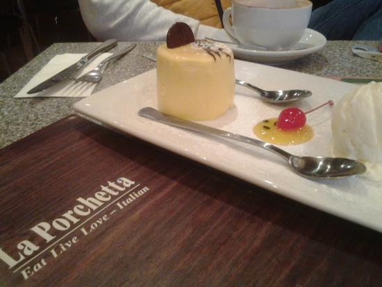 La Porchetta Parnell: Чизкейк в ля порчетта окленд Н. Зеландия