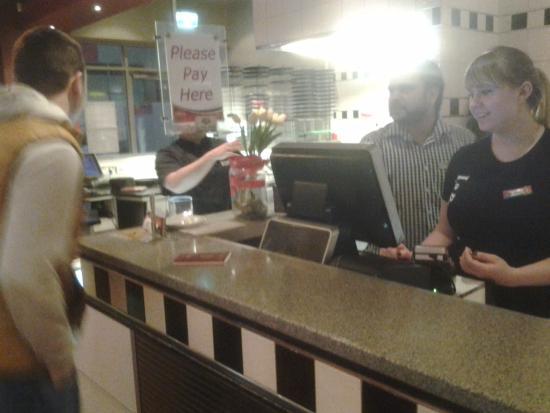 La Porchetta Parnell: У барной стойки