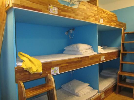 Birka Hostel: Общий номер с 14 кроватями