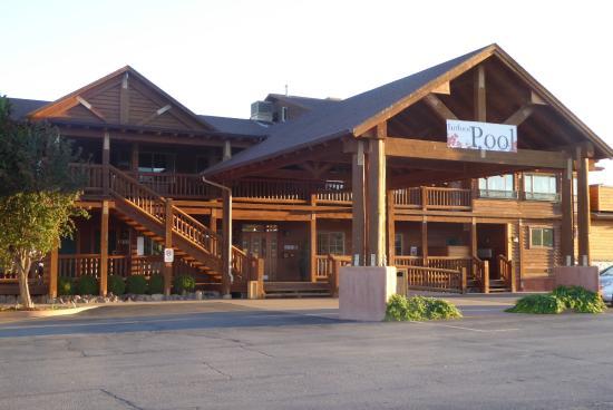 Indoor Swimming Pool Picture Of Desert Rose Inn Cabins