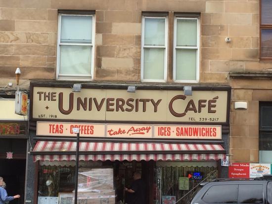 University Cafe Glasgow Breakfast