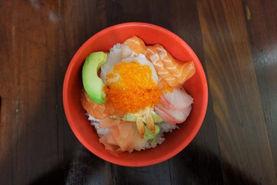 Bentley, Αυστραλία: Chirashi Sushi