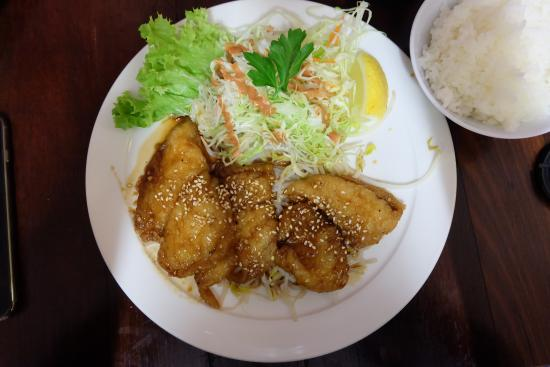 Bentley, Australien: Teriyaki fish
