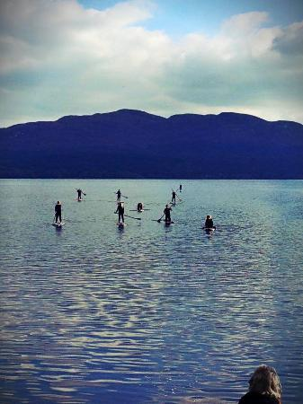 Paddleboarding on Lough Gill with Perfect Day SUP school