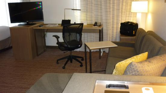 Residence Inn Palo Alto Los Altos: Great working setup