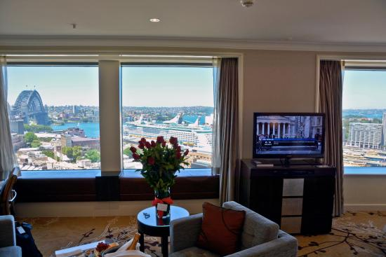 Shangri La Hotel Sydney Room View From Premier Grand Harbour At