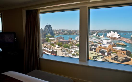 Shangri La Hotel Sydney View From Premier Grand Harbour Room At