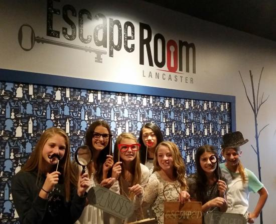 Escape Room 13th birthday party Picture of Escape Room Lancaster