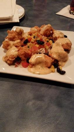 Woody's Roadside: Creole shrimp smackers - appetizer