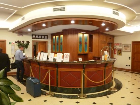 Hotel Ariston : reception