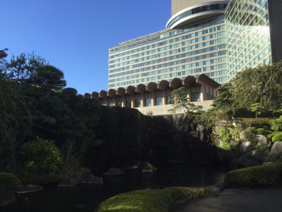 koi pond picture of hotel new otani japanese garden. Black Bedroom Furniture Sets. Home Design Ideas