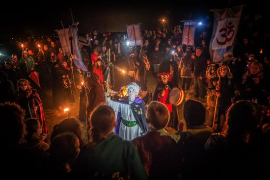 Athboy, Ireland: Samhain Festival of Fire - Opening Ceremony
