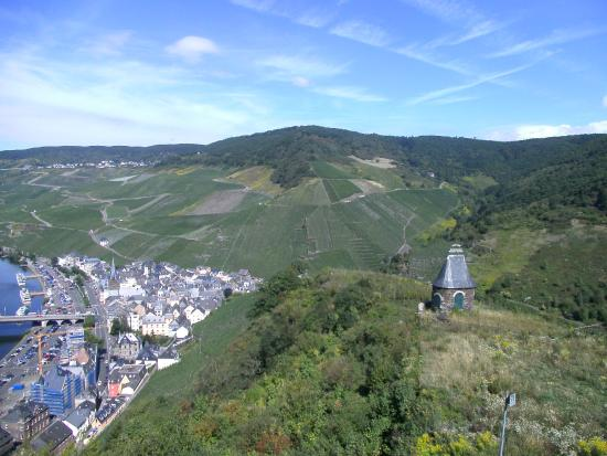 Landscheid, Alemania: uitzicht op moezek