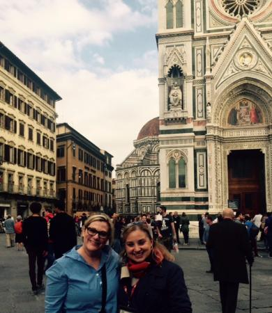 Fantastic Florence: All smiles at the end of a wonderful tour