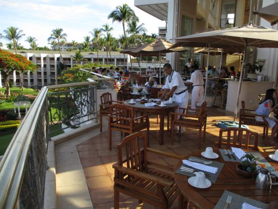 Beau Grand Dining Room Maui Breakfast Only Picture Of Wailea