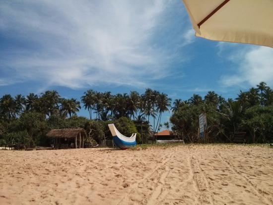 Bentota, Sri Lanka: Our Beach Bungalow Bar Awanhala Beach Restaurant