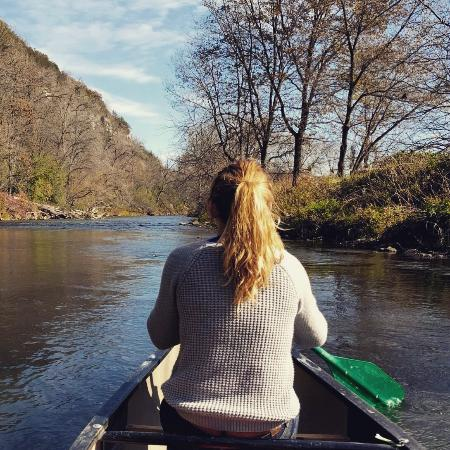 River Rats Outfitters Canoe & Kayak Rentals & Sales: Had the perfect sunny October day for a lazy meander down the Root River!